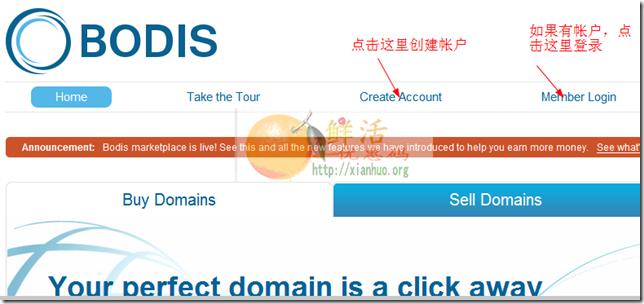 如何通过bodis域名停靠赚钱 通过bodis出售域名