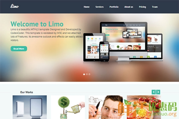 CCR Limo- WordPress Business Template