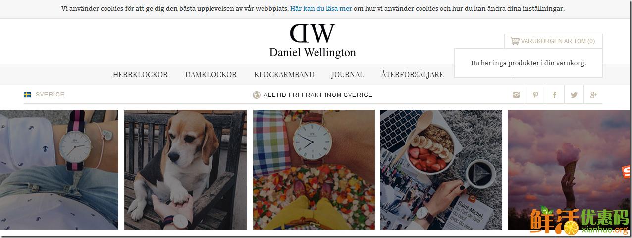 dw手表瑞典官网